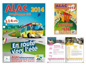 Plaquette  Association Culturelle - ALAC 44