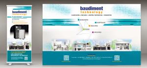 BAUDIMENT Technology - Produits pour salon : ROLL-UP et STAND Parapluie