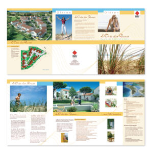 Plaquette projet immobilier