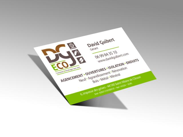 Carte de visite DG-Eco