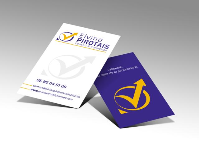 Carte de visite Elvina PIROTAIS Conseil & Formation