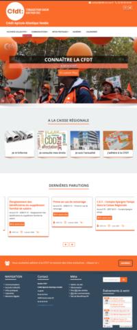 Site CFDT Crédit Agricole Vendéee