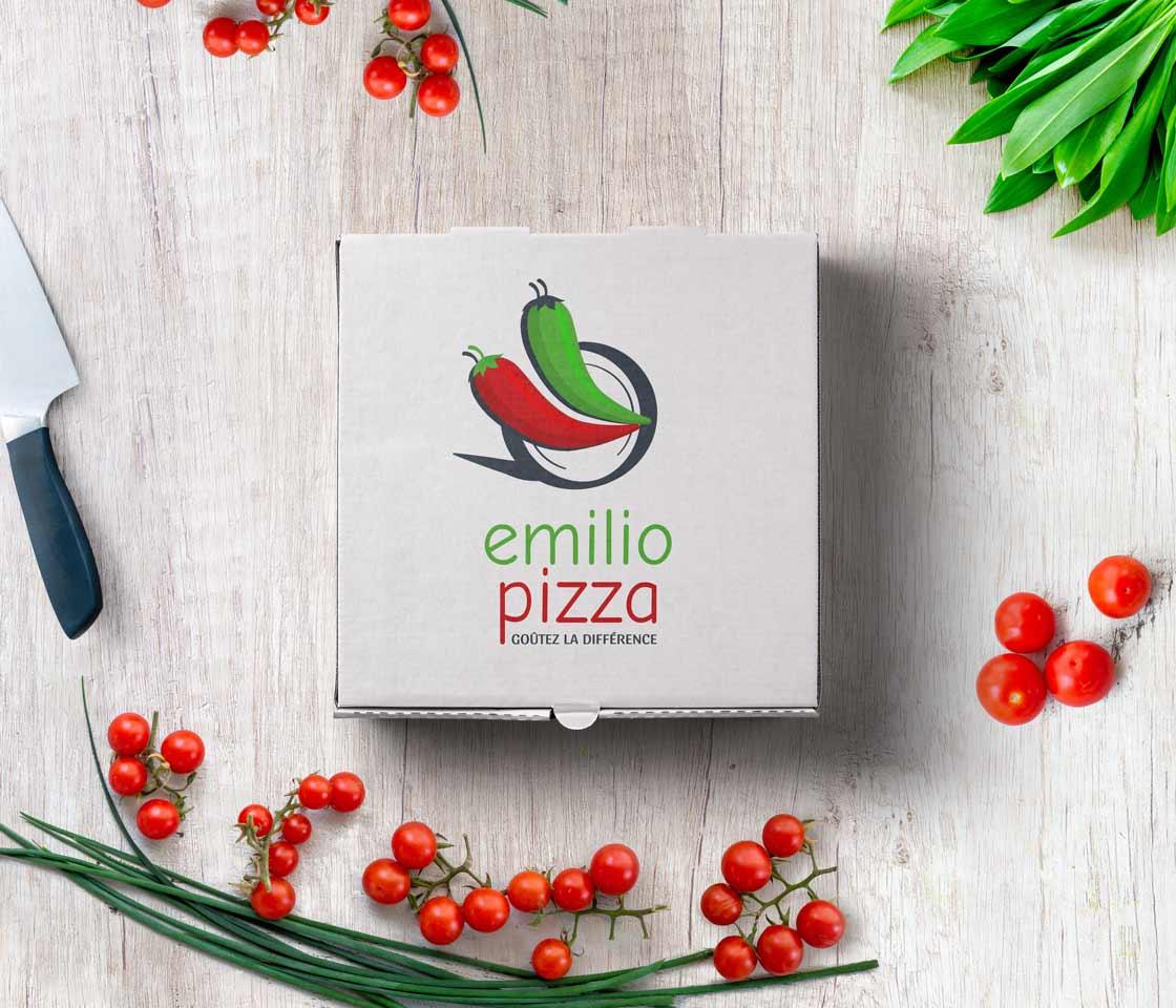 Emilio-Pizza - Nouveau logo 2021