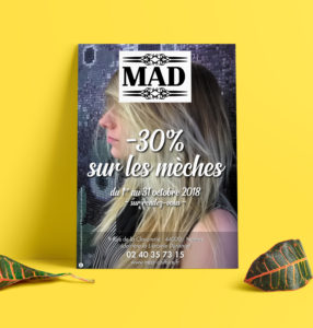 FLYER MAD Coiffure