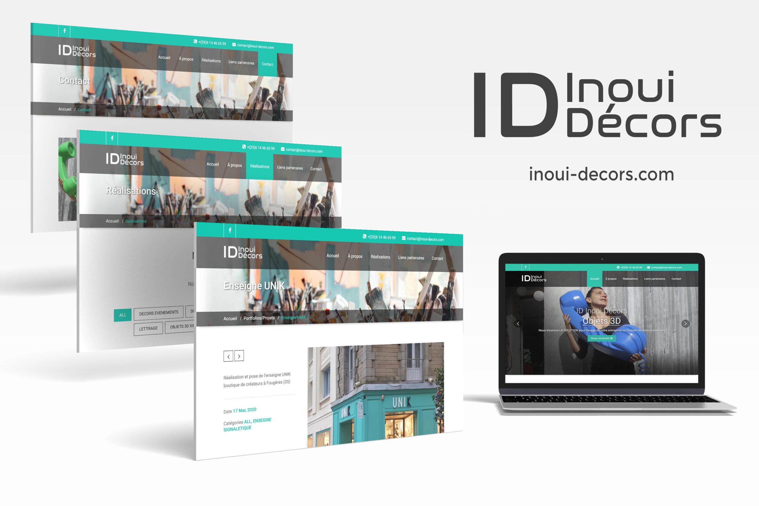 Création du site https://inoui-decors.com/