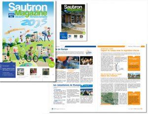 Bulletin municipale ville de Sautron