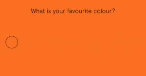 La couleur favorite des francais