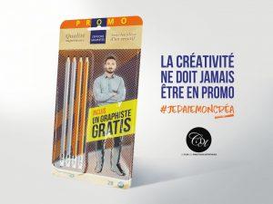 Créatif en promo