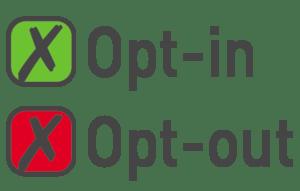 optin VS ouptout